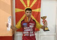 Рустемовски и Стојановска државни прваци во јуниорска конкуренција